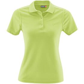 Maier Sports Ulrike Poloshirt Dames, sap green